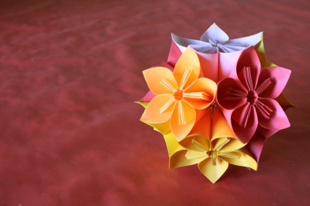 Small Kusudama Flower Ball