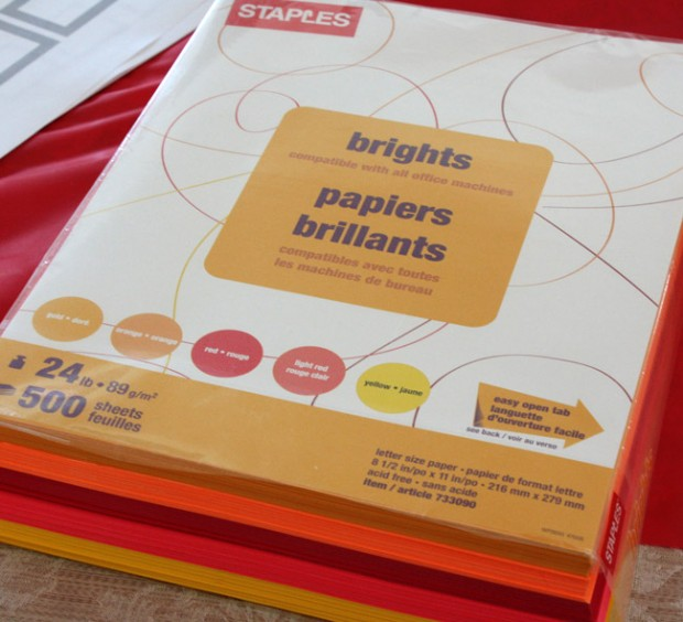 Cheap Paper for Origami from Staples