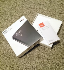 Sony Xperia Z3v Packaging Verizon